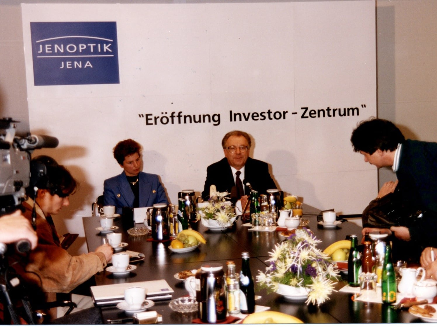 1992: Jenoptik opens an investor center