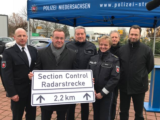 Germany starts section speed control in Lower Saxony