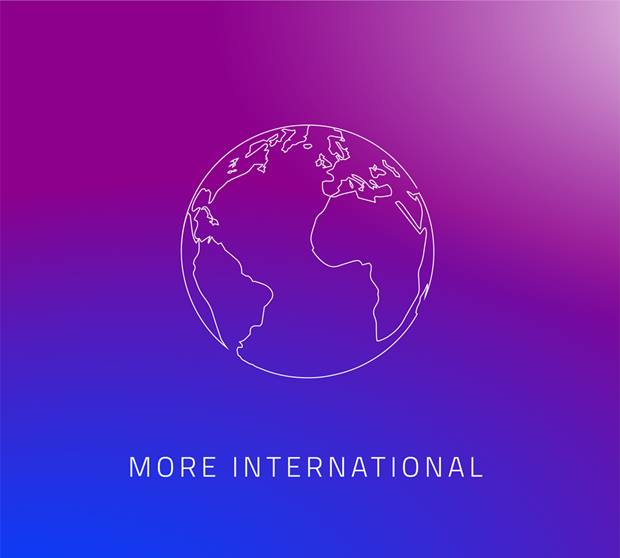 Our Strategy: More International