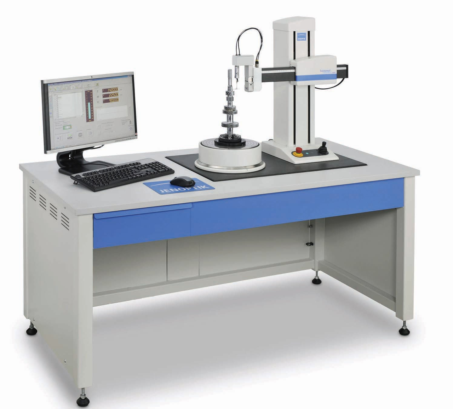 Hommel-Etamic F435 and F455 - as compact table-top units or as ergonomic measuring station