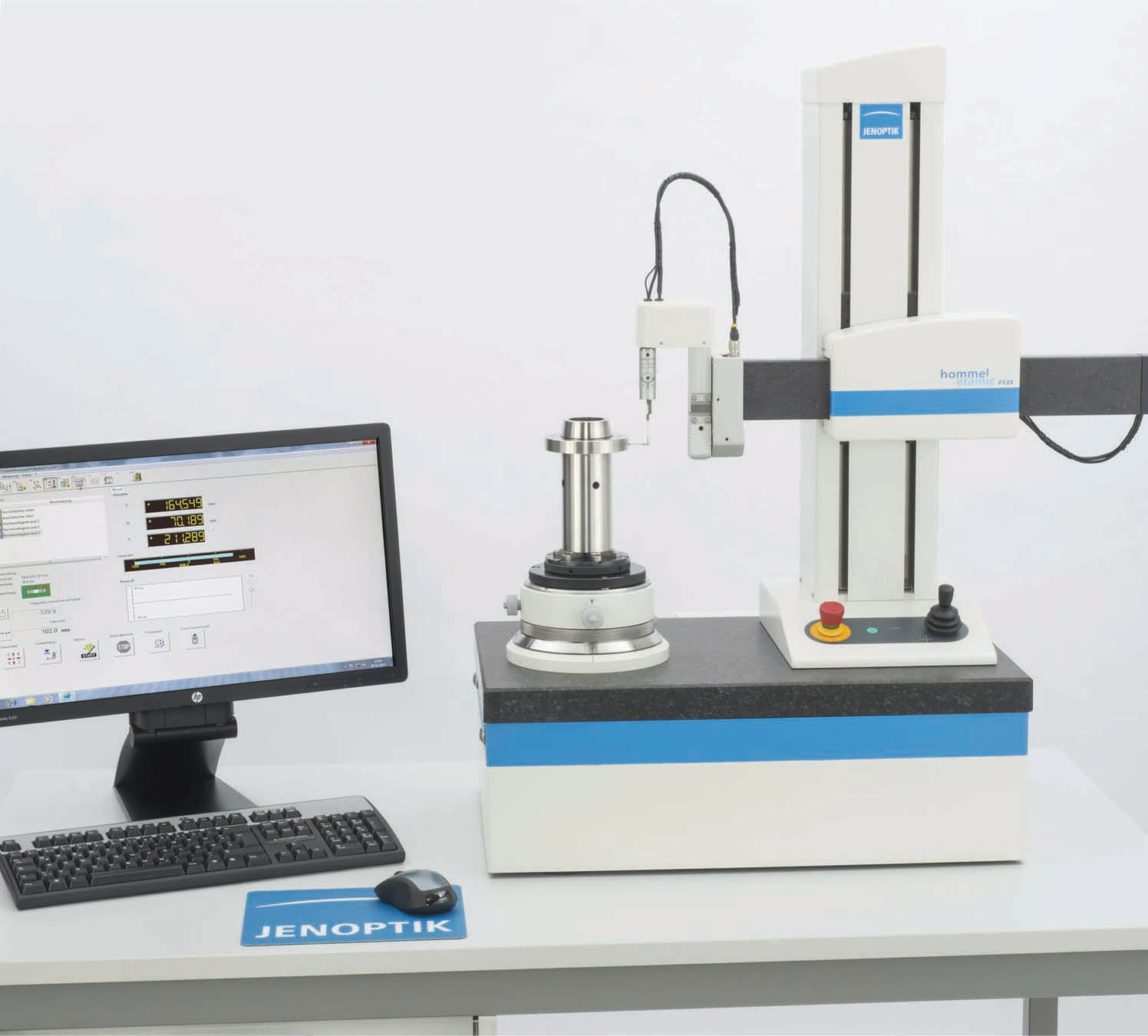 Hommel-Etamic F135 und F155 - automated form measuring instruments for cylindricity measurement