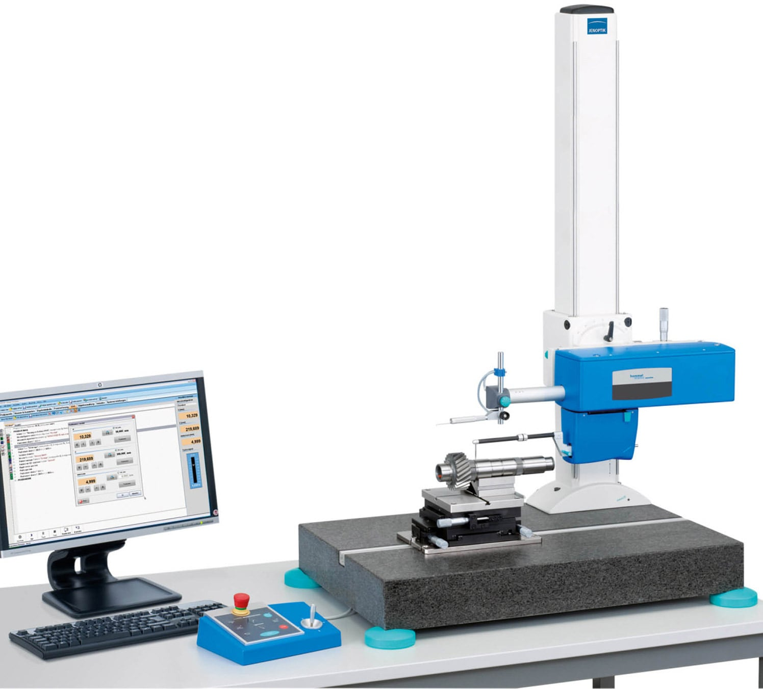 Hommel-Etamic T8000 RC - For Contour and Roughness Measurement