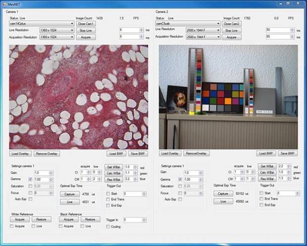 Test - ProgRes® microscope cameras with ActiveX driver