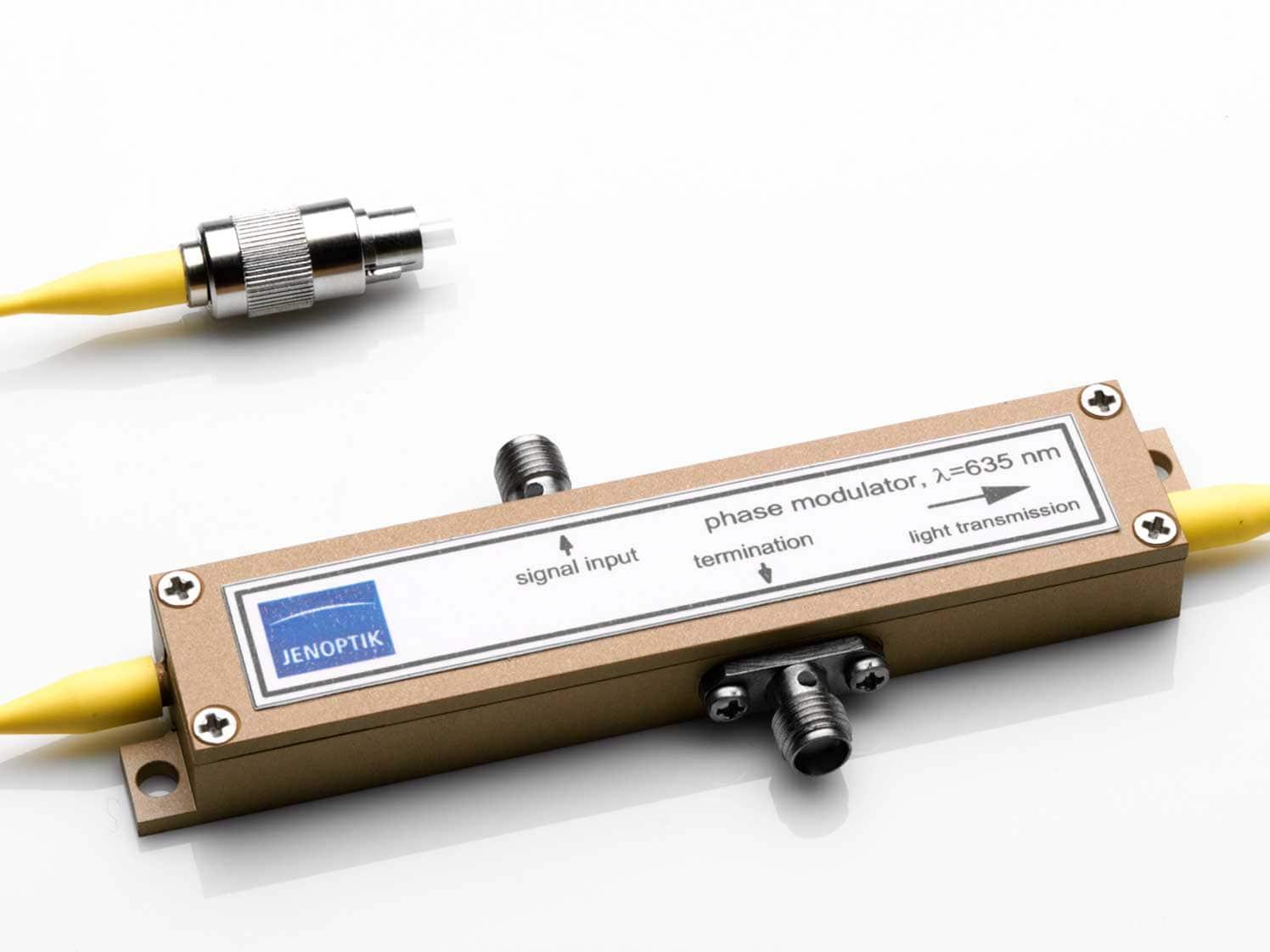 Phase modulators from Jenoptik