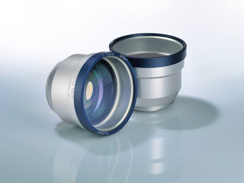 F-Theta lens for 1064 nanometer applications in Jenoptik's Silverline(TM) lens portfolio