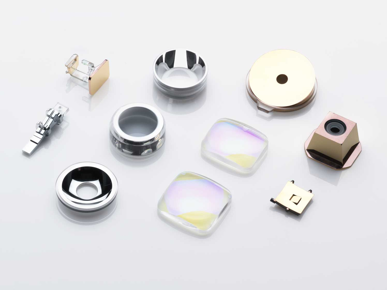 Optical coatings for polymer optics