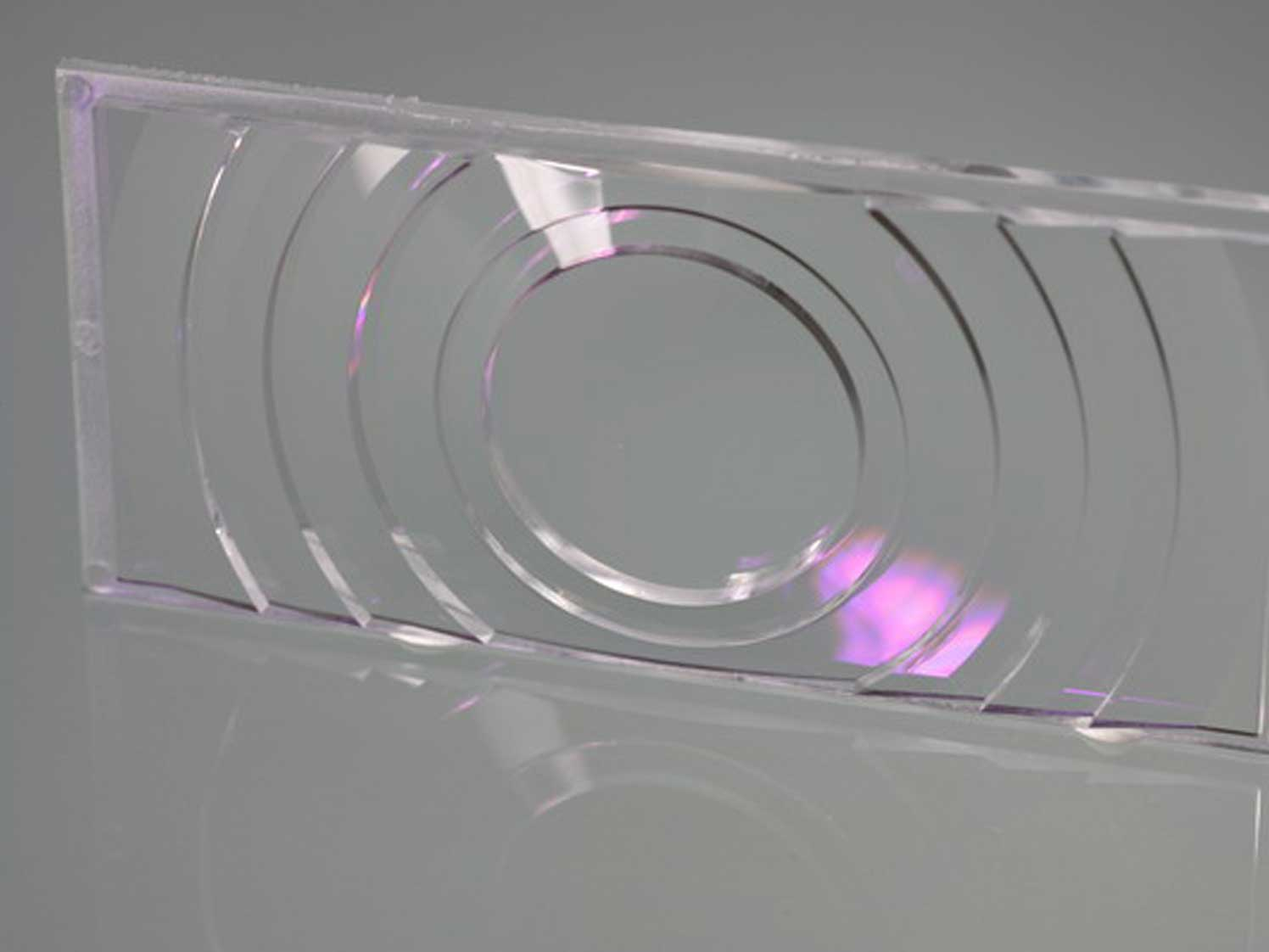Customized Polymer Optical Lenses